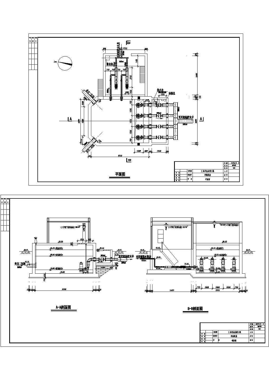 污水处理厂工艺流程图图片1