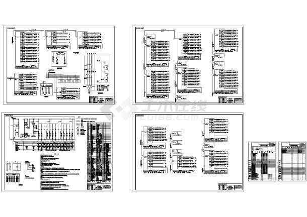 8500㎡五层办公楼全套电气设计施工图纸-图一