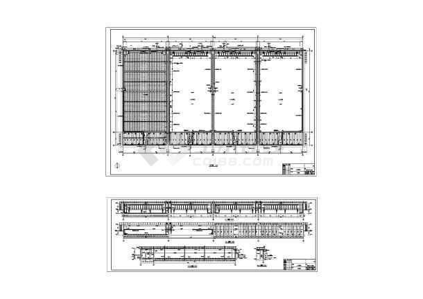 涿州市某城市污水处理厂工艺部分全套图纸-图二