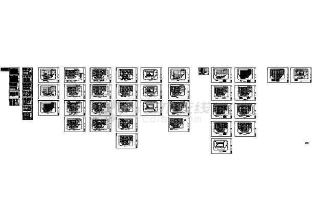[江西]多层商业建筑电气施工图47张-图一
