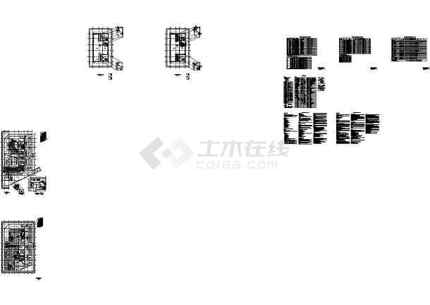 [江苏]某高层办公建筑空调通风及防排烟系统设计施工图(CAD)-图一