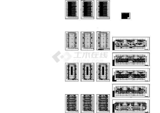 [江苏]文化会议展览馆空调通风及防排烟系统设计施工图-图一