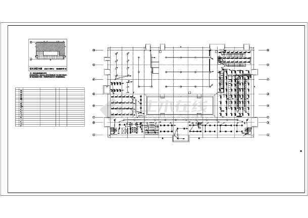某市烟草分拨中心及物流园项目(电气)-图二