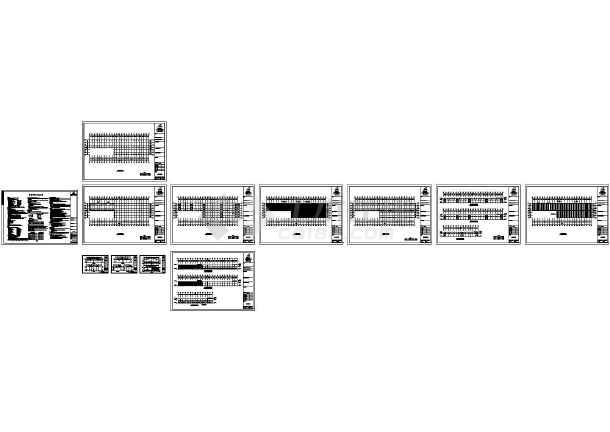 湖北恩思某公司钢结构工程CAD施工图-图一