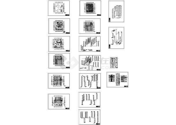十六层综合楼给排水与消防工程毕业设计全套资料-图一