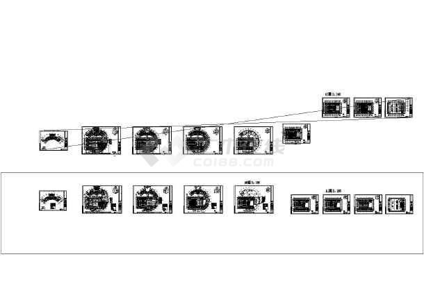 盐城图书馆电气施工CAD图纸(审图修改版)-图二