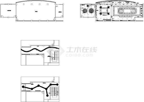 豫兴教育集团(暑期)教育设施完善工程--电气设计施工图-图二