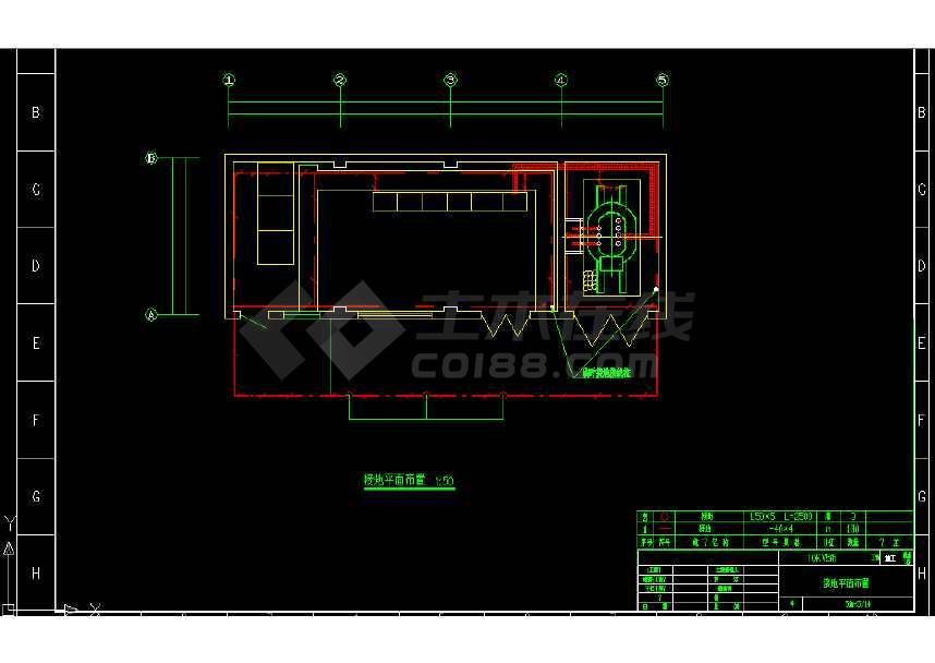 10KV變電所成套電氣設計cad圖紙-圖一