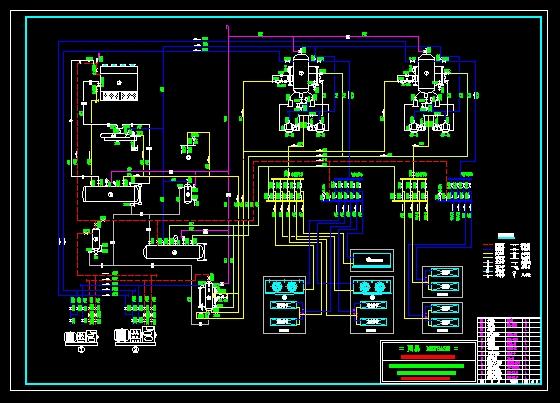 冷库制冷系统原理图-图1