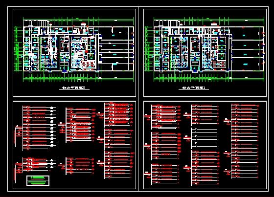 厂房电气照明图纸-图一图片