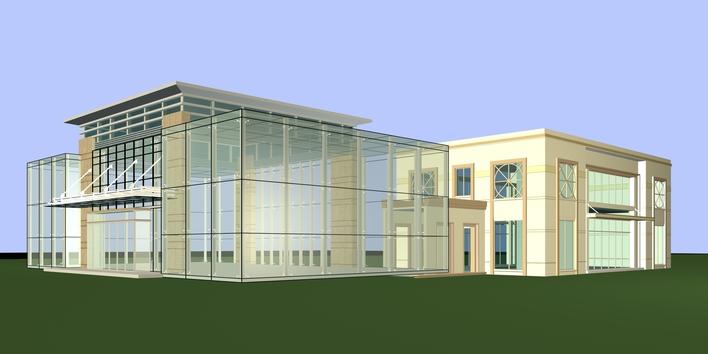 点击查看钢结构售房部结构装饰图纸第1张大图