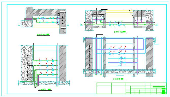 【大连】某十一层住宅楼采暖系统图纸图片1