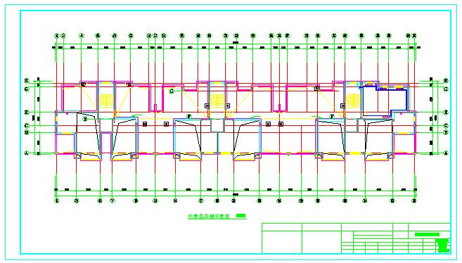 【大连】某十一层住宅楼采暖系统图纸图片3