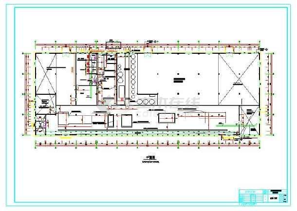 植筋技术运用的工业厂房部分结构图-图1
