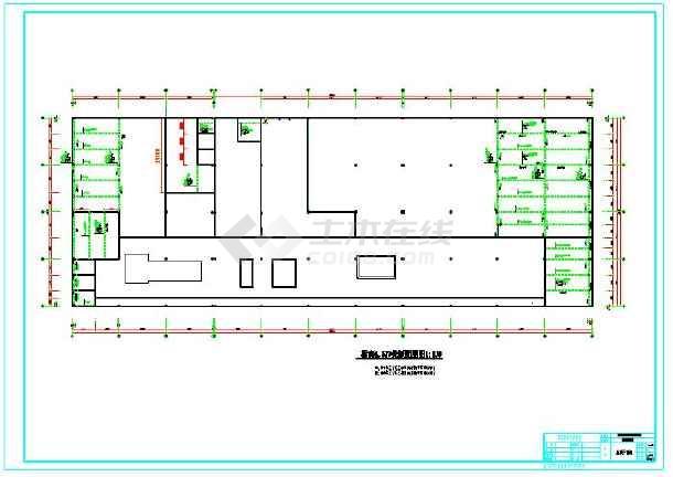 植筋技术运用的工业厂房部分结构图-图3