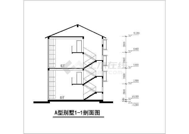 点击查看某地区叠加别墅方案图(含建筑面积)第1张大图