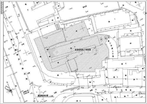 地基处理_【地下室基坑支护】某房屋建筑地下室基坑支护结构设计施工图 ...