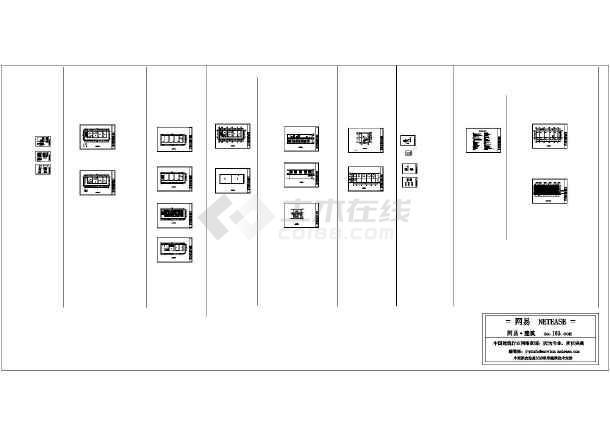 某别墅建筑+装饰图-图1