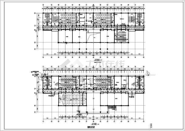 某中学五层综合教学楼建筑设计方案图片