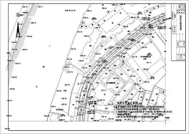 点击查看某市政工程室外道路给排水设计施工图第2张大图