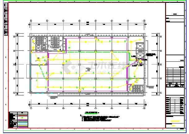 某工业厂房电气图纸-图2