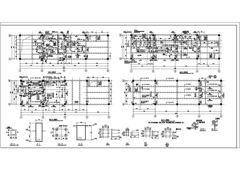 某选煤厂厂房改造工程加固设计施工图图片1