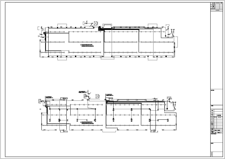 某地二层钢结构厂房电气施工图图片3