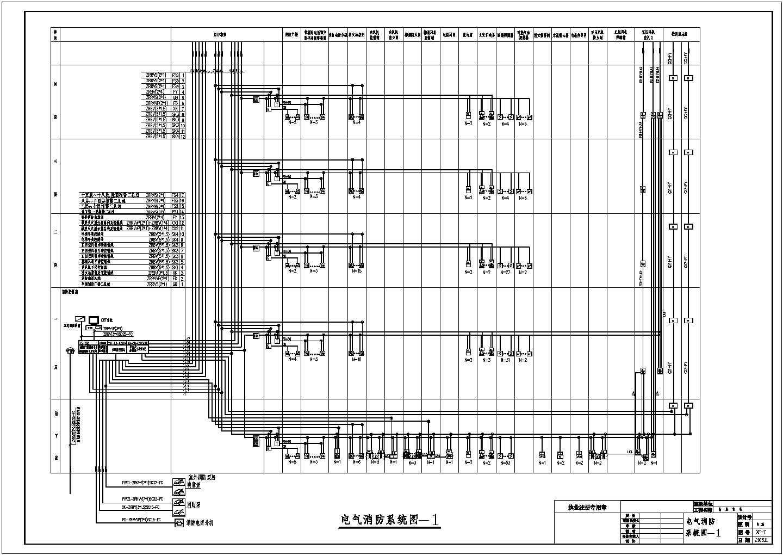 高层住宅消防图纸(含火灾自动报警及消防联动控制系统设计说明)图片3