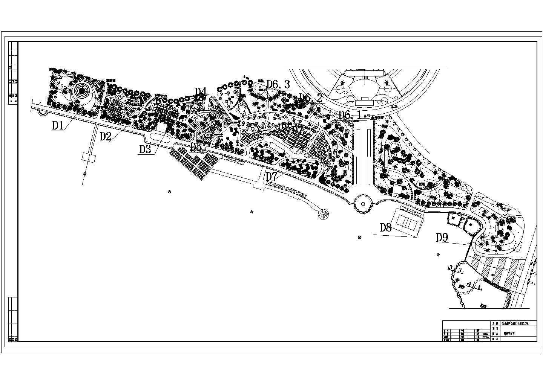 海洋公园绿化平面图图片1