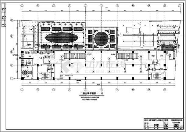 【南通】某售楼处空气热泵加地板采暖图纸-图2