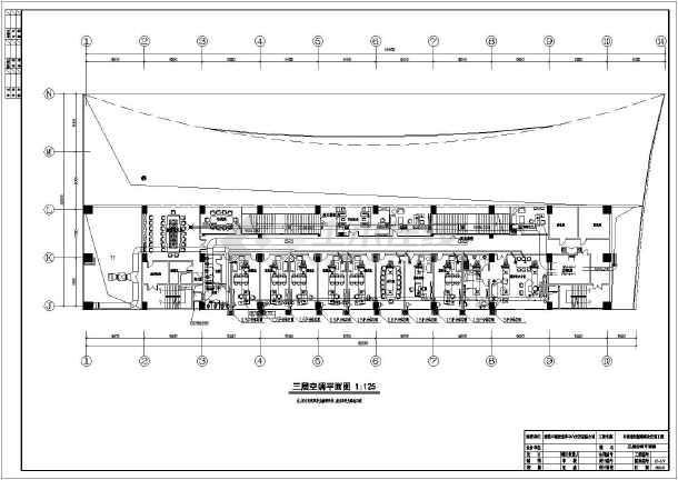 【南通】某售楼处空气热泵加地板采暖图纸-图3