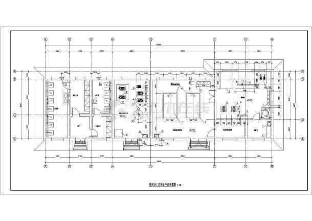 燃气热水锅炉及卫生热水锅炉房施工图图片