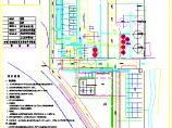 某厂给排水及消防设计综合管线图纸图片1