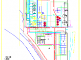 某厂给排水及消防设计综合管线图纸图片2