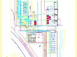 某厂给排水及消防设计综合管线图纸图片3