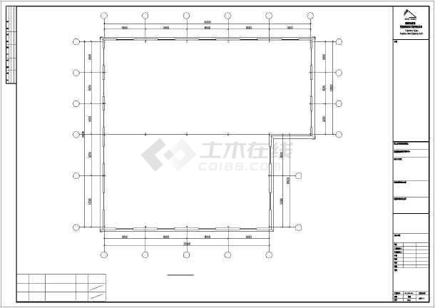 【福建】福建某炼油钢结构CAD图纸-图1