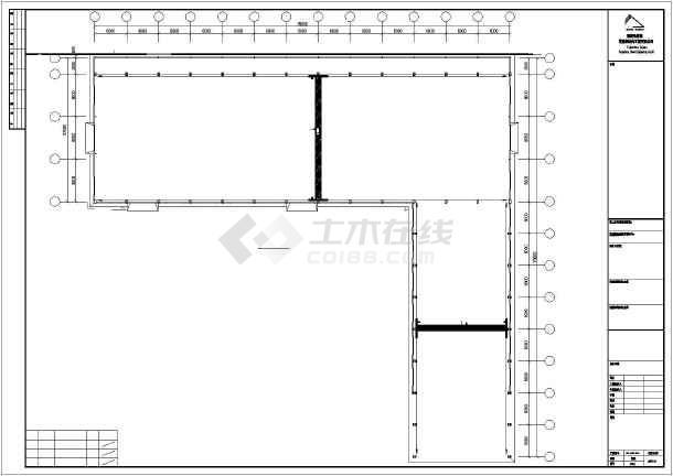 【福建】福建某炼油钢结构CAD图纸-图3