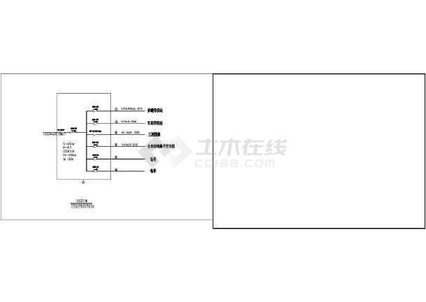 某换热站1拖3变频运行电气控制原理图-图二