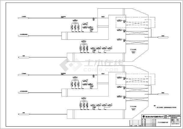 电厂SCR氨法脱硝系统废气处理总图-图3