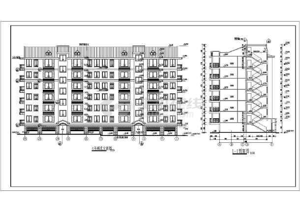 某小区多层住宅设计图纸 (全集)-图2