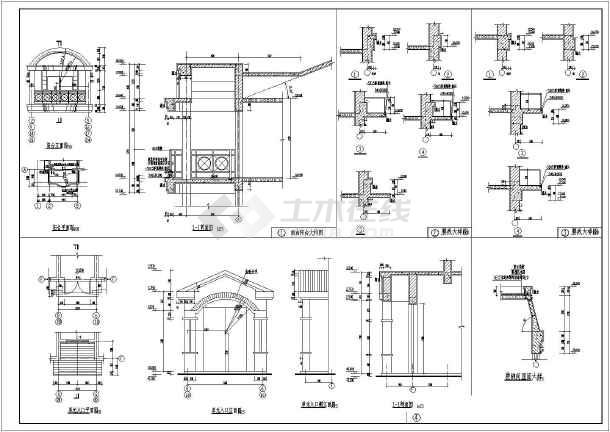 某小区多层住宅设计图纸 (全集)-图3