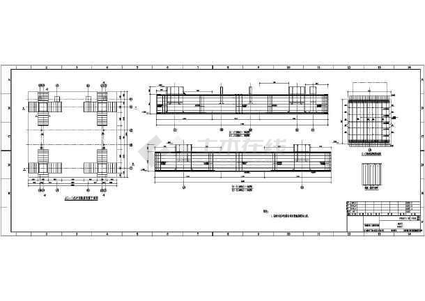 某地锅炉基础(大体积混凝土)结构施工图-图3