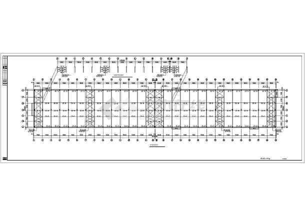 某重钢结构容器车间全套图纸-图2