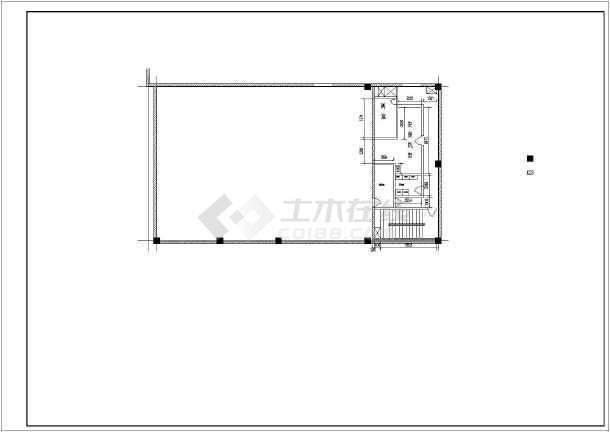 混凝土柱加固和整套钢梁加固图纸-图3