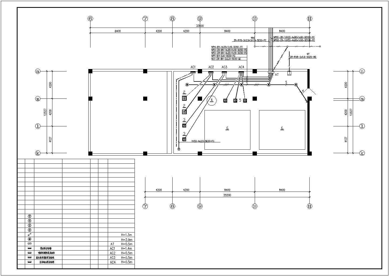 某地车间水泵房平面图(包含有图例)图片1