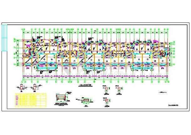 住宅楼施工组织设计及施工图预算(附全套图纸工程造价本科毕业设计)-图3
