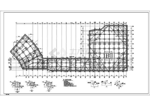SMW工法两层地下室基坑围护完整施工图-图1