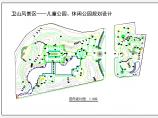 某风景区儿童公园竖向园林设计平面图图片1