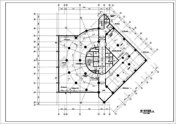 某高档酒店建筑方案图(共18张)-图2