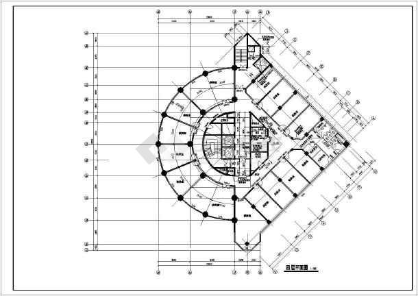 某高档酒店建筑方案图(共18张)-图3